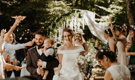 Photographe professionnelle mariage au château de Saint Loup près de Besançon