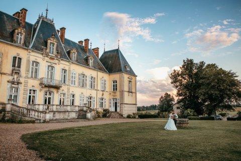 Photographe professionnelle mariage en Château près de Besançon