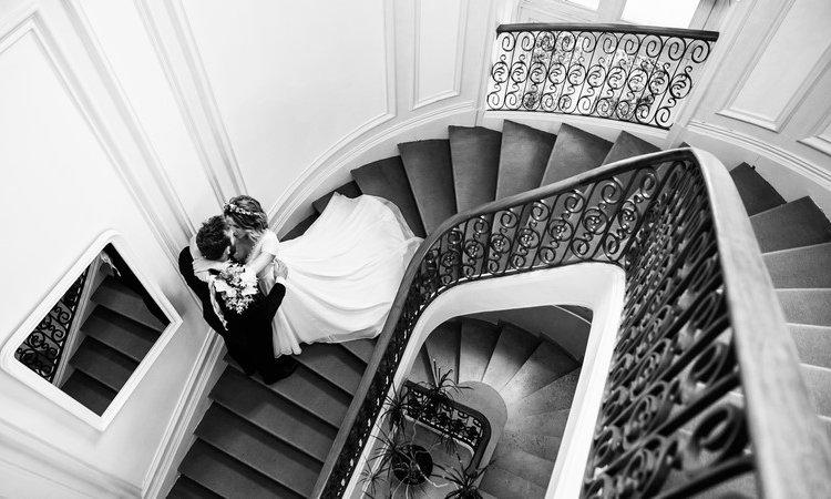 Tails Photographie - Céline Jean Mariage château de la Dame Blanche Besançon